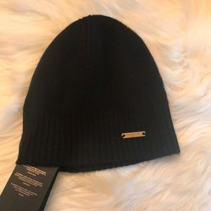 BURBERRY Beanie Hat 100% Cashmere