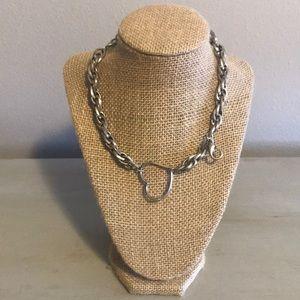 Silver heart Jewel Kade Necklace