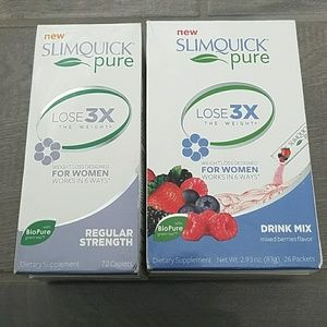 Slimquick Pure Weight Loss for Women Drink Mix +