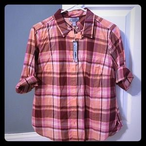 NWT JC Penny Button Down Blouse