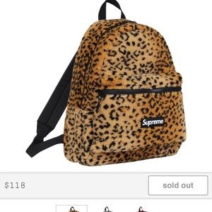 Leopard lease backpack