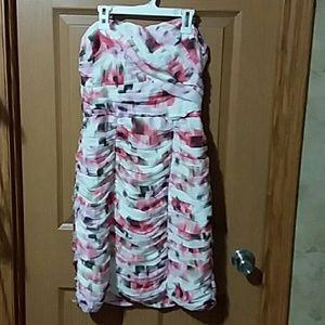 Strapless dress size 8.