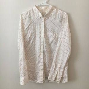 GAP Pink Polka Dot Shirt