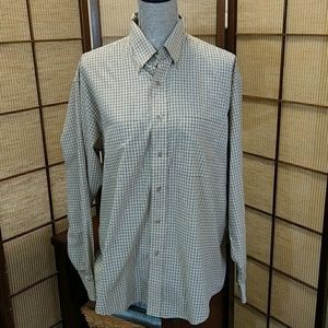 VAN HUESEN MENS BUTTON DOWN SZ MED