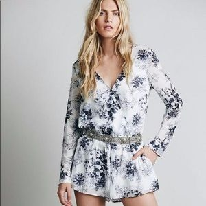 Free People Float Away romper