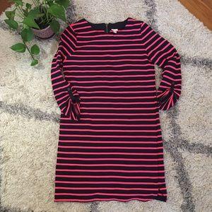 Merona Thin Sweatshirt Striped Dress