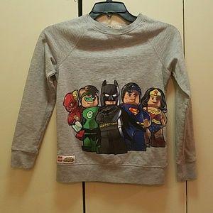 Lego Super Heroes Boys Sweatshirt