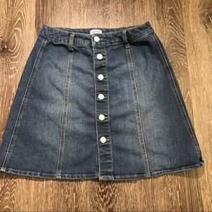 Mossimo Button Down Skirt