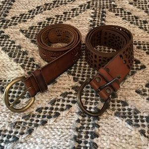 Lucky Brand Leather Belts