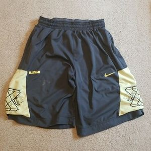 LeBron basketball shorts