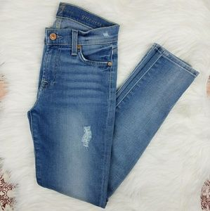 7FAM // Gwenevere Mid-Rise Skinny Jeans
