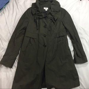 Loft rain jacket Olive green