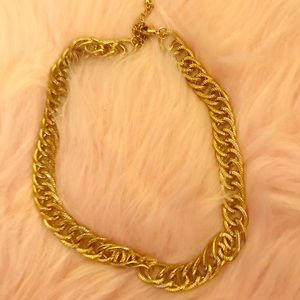H&M gold chain necklace - like new!