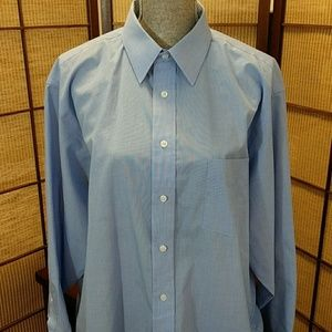 STAFFORD NWOT! button up sz 17 32/33