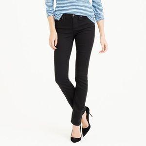 J. Crew trademark matchstick jean black size 28