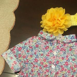 Little flower dress with flower headband