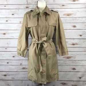 GAP Knee Length Trench Coat