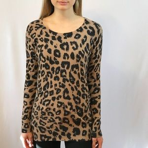 Old Navy Leopard Sweater