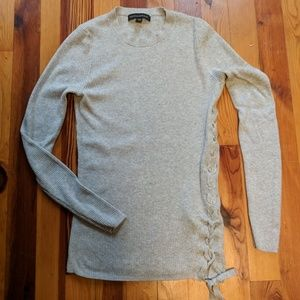Banana Republic Sweaters - Banana Republic Lace-up Sweater XS a5f3547c0