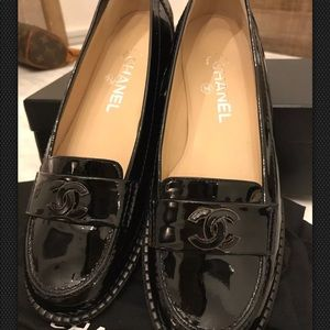Authentic Chanel Loafers
