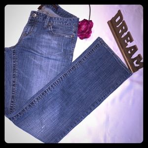 Aeropostale Size 7/8 Stretch Boot Bootcut Jeans