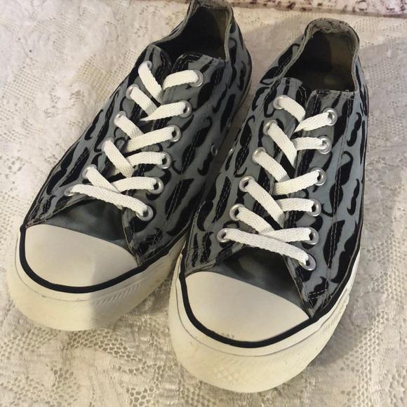 25edb840dc07 Converse Shoes - Converse All Stars mustache