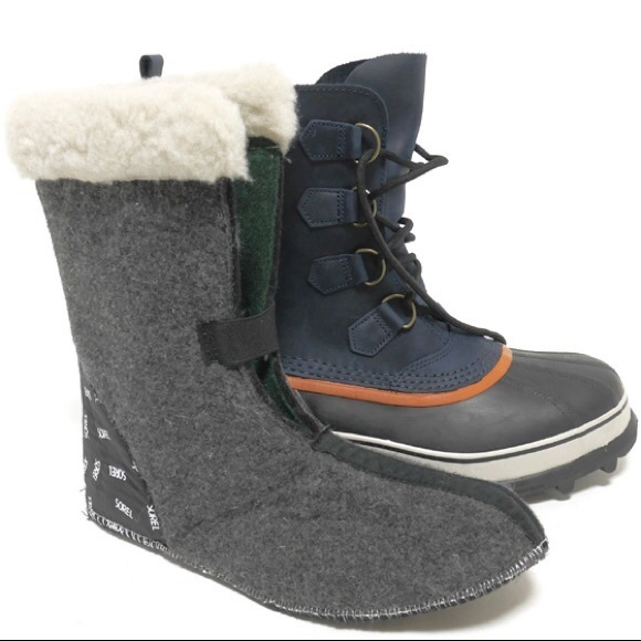 0c933d63bde Sorel Caribou Nocturnal Snow Boot Men's