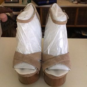 Justfab Luxe Foster Taupe size 10