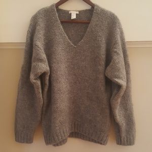 H&M Thick V Neck Sweater