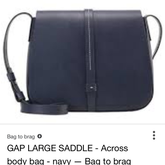 1b4fc75e364 GAP Bags | Large Crossbody Saddle Bag | Poshmark