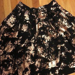 Lularoe elegant collection Madison skirt size s