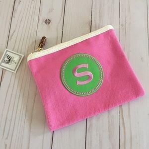 NWT Cosmetics Bag Accessories Zip Bag Case S