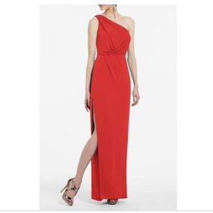 Bcbg formal red dress