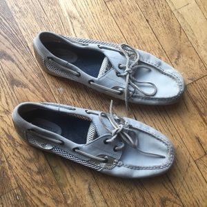 Sperry Top Sider Baby Blue Boat Shoes