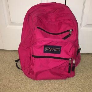 Pink Jansport Backpack