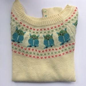 Lux Owl Sweater