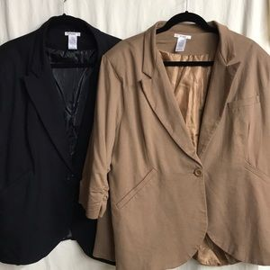 Fine and Sandy blazer - listing is for one