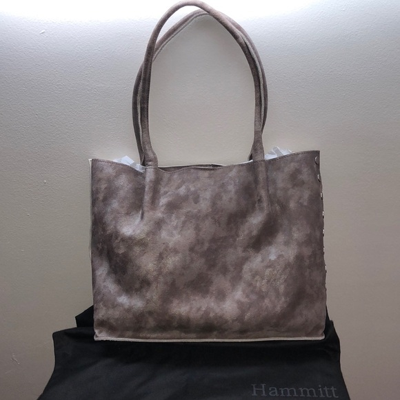 NWT Hammitt Los Angeles Oliver Nebula Silver Tote dded8d5837d4e