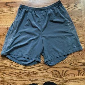 NIKE Dri Fit Grey Shorts
