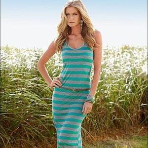 Venus maxi dress with belt