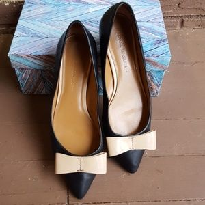 BANANA REPUBLIC shoes, black flats