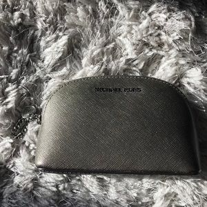 Michael Kors Alex Small Travel Poach in Pewter