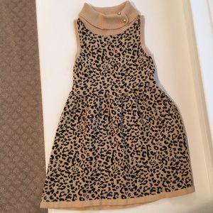 Janie and Jack Leopard Dress
