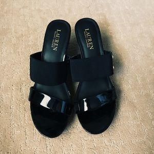 Ralph Lauren sandal heals