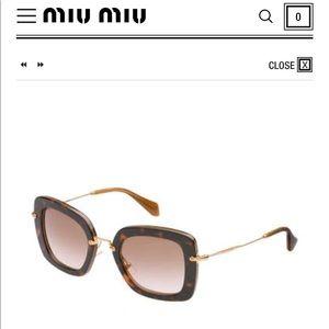 Authentic Miu Miu Sunglasses 😎 🌸🌸🌸🌸