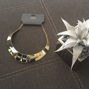 NWT Gold tone necklace