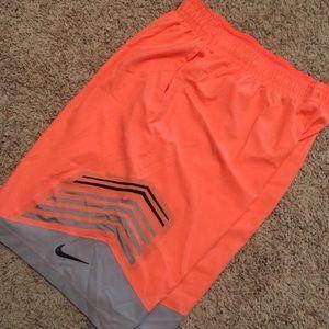 Nike Hyperelite Basketball Shorts Peach