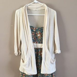 Silence and Noise Cardigan Sz M