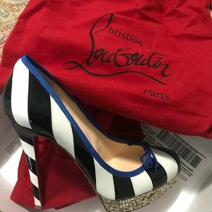 Pre-owned Authentic Women Christian Louboutin 9.5
