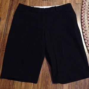 Worthington Stretch Bermuda Black Shorts 10P